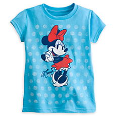 Minnie Mouse Tee for Girls - Summer Fun
