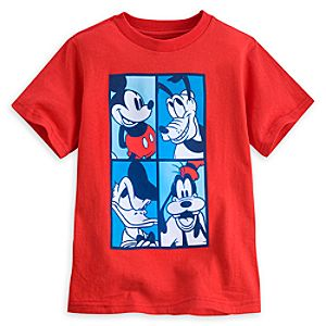 Mickey Mouse and Friends Tee for Boys - Summer Fun