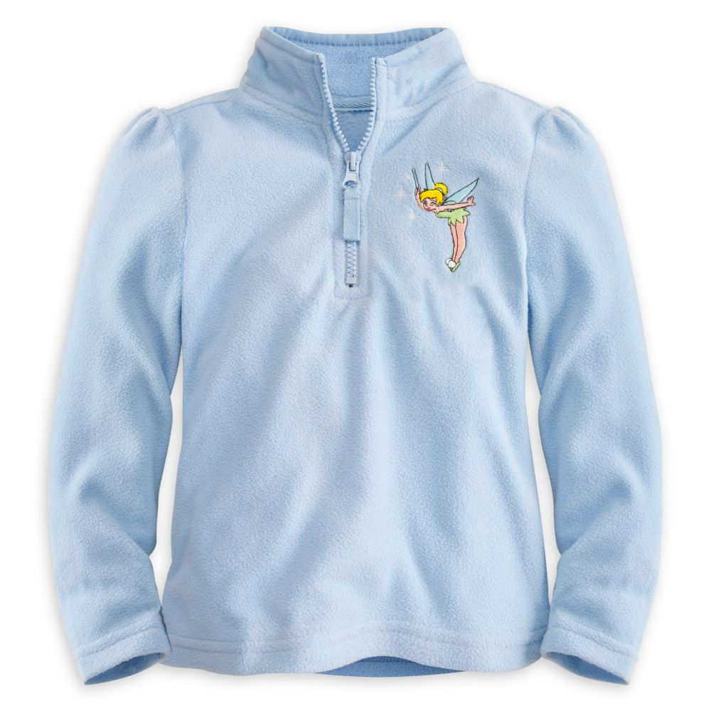 Personalizable Tinker Bell Fleece Pullover for Girls