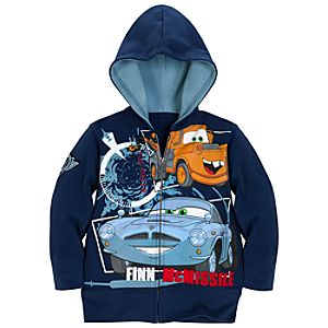 Cars 2 Tow Mater and Finn McMissile Hoodie for Boys