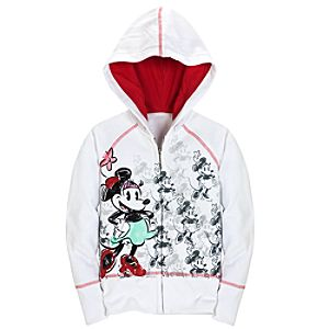 Disney Nostalgia Minnie Mouse Hoodie for Girls