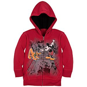 Disney Nostalgia Mickey Mouse Hoodie for Boys