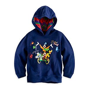 Mickey Mouse and Friends Holiday Hoodie for Boys