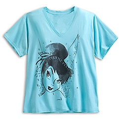 Tinker Bell V-Neck Tee for Women - Plus Size