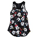 Mickey and Minnie Mouse Expressions Tank for Women