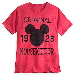 Mickey Mouse Icon Mouseketeer Tee for Men