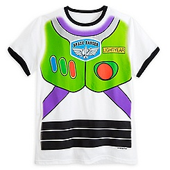 Buzz Lightyear Uniform Ringer Tee for Adults