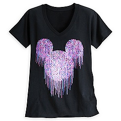 Mickey Mouse Melted Icon Tee for Women