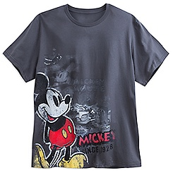 Mickey Mouse Pop Art Tee for Men - Plus Size