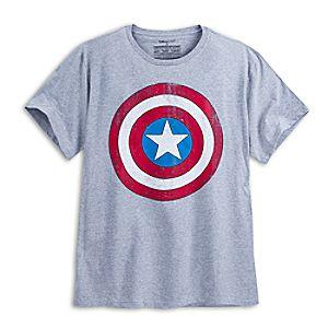 Captain America Shield Tee for Men - Plus Size