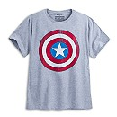 Captain America Shield Tee for Men - Plus Size