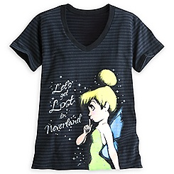 Tinker Bell V-Neck Tee for Women
