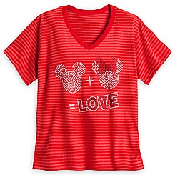 Mickey and Minnie Mouse Icon Tee for Women - Plus Size
