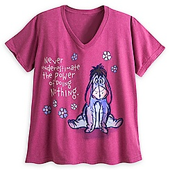 Eeyore V-Neck Tee for Women - Plus Size