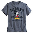 Mickey Mouse Varsity Tee for Men - Plus Size