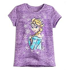 Elsa Slubbed Tee for Girls