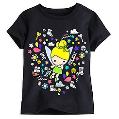 Tinker Bell Kawaii Art Tee for Girls