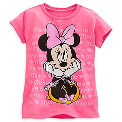 Minnie Mouse Tee for Girls - Valentine's Day