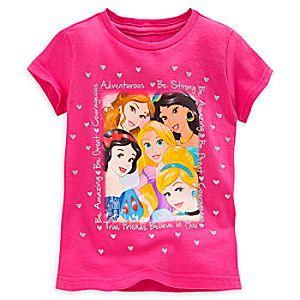 Disney Princess Selfie Tee for Girls
