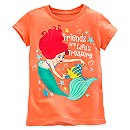 Ariel and Flounder Tee for Girls