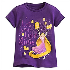 Rapunzel Lantern Tee for Girls