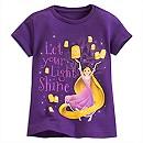 Rapunzel Lantern Tee for Girls