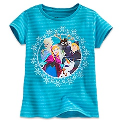 Frozen Cast Tee for Girls