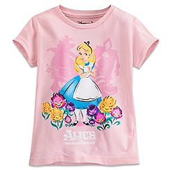 Alice in Wonderland Tee for Girls