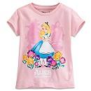 Alice in Wonderland Tee for Girls