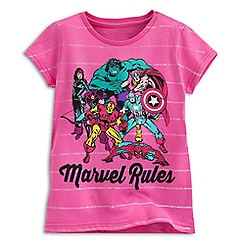 Marvel Comics Tee for Girls