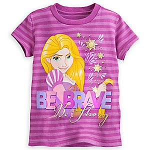 Rapunzel Striped Tee for Girls