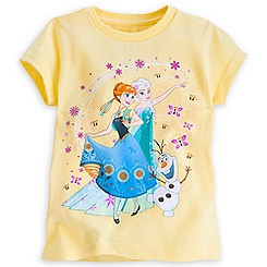 Anna and Elsa Tee for Girls - Frozen Fever