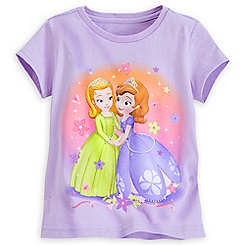 Sofia and Amber Tee for Girls