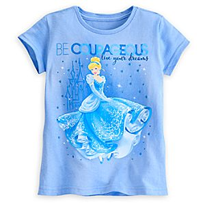 Cinderella Dreams Tee for Girls