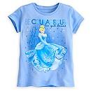 Cinderella Dreams Tee for Girls