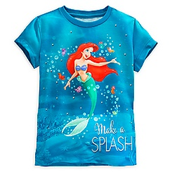 Ariel and Flounder Fashion Tee for Girls