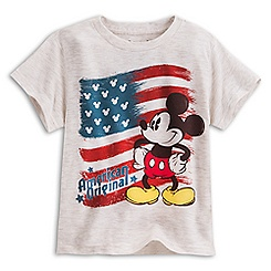 Mickey Mouse Americana Tee for Boys