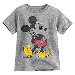 Mickey Mouse Classic Heathered Tee for Boys