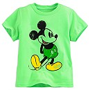 Mickey Mouse Classic Tee for Boys - Lime