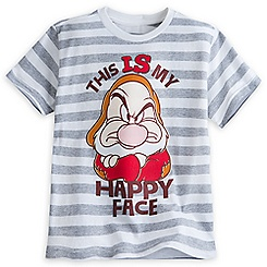 Grumpy Striped Tee for Kids