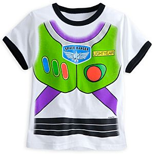 Buzz Lightyear Costume Tee for Boys - Toy Story