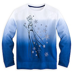 Elsa Dip Dyed Sweatshirt for Women - Plus Size