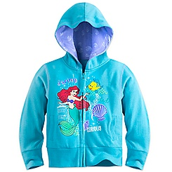 Ariel and Flounder Hoodie for Girls