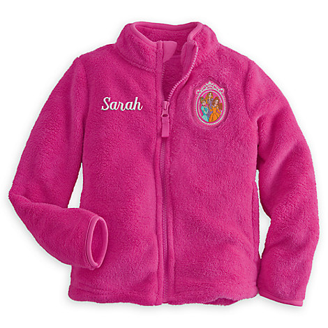 Yeti Cyber Monday Sale >> Disney Princess Fleece Jacket for Kids - Personalizable ...