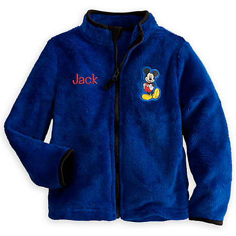 Mickey Mouse Fleece Jacket For