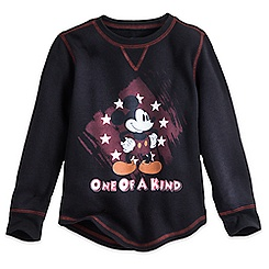 Mickey Mouse Long Sleeve Thermal Tee for Boys