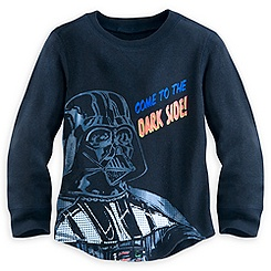 Darth Vader Long Sleeve Thermal Tee for Kids