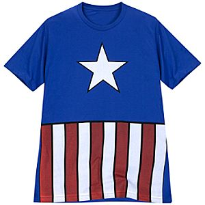 Outfit Captain America Tee by Mighty Fine for Men