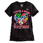 Marvel Comics Heroes Tee for Women