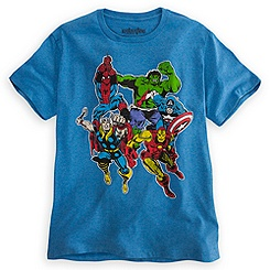 Spider-Man and The Avengers Tee for Men by Mighty Fine